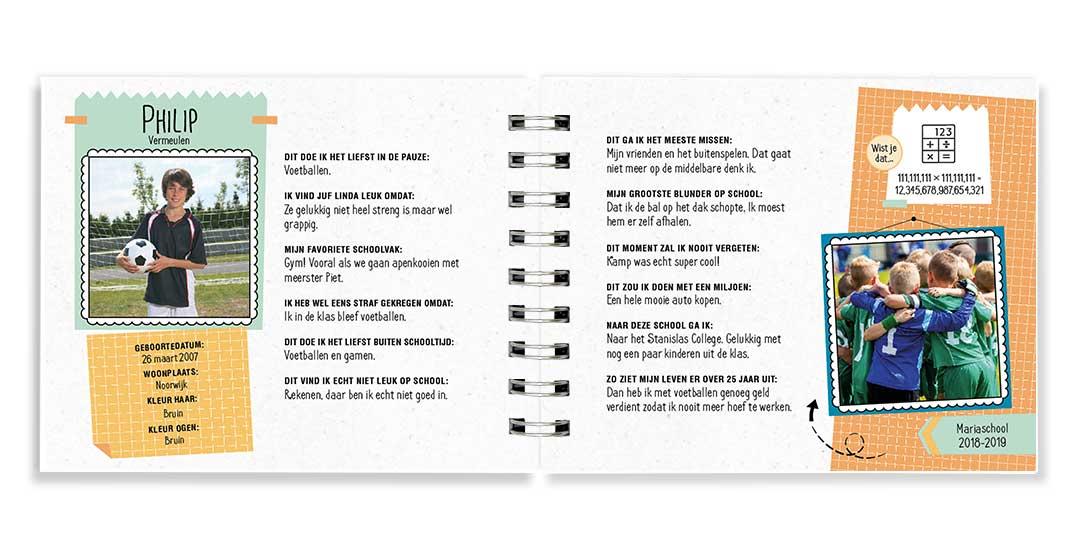 Fonkelnieuw Vriendenboekje | Origineel kado afscheid groep 8 LG-27