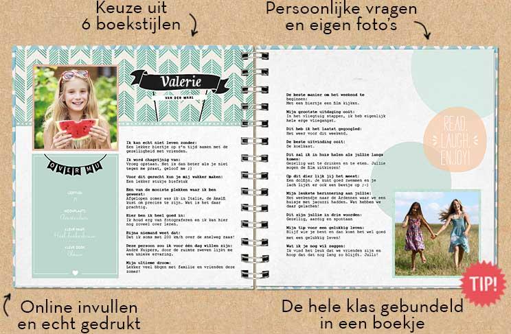 Welp Vriendenboekje | Een origineel afscheidskado juf of meester HM-33