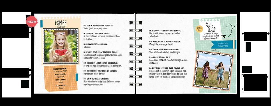 Goede Vriendenboekje | Origineel kado afscheid groep 8 PO-32