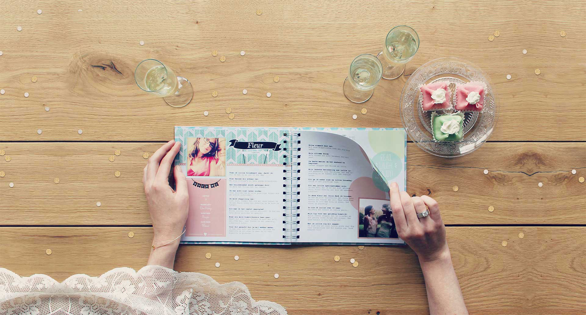 Vriendenboekje Persoonlijk Trouwkado Voor Een Trouwerij